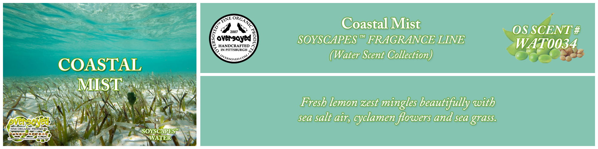 Coastal Mist Handcrafted Products Collection
