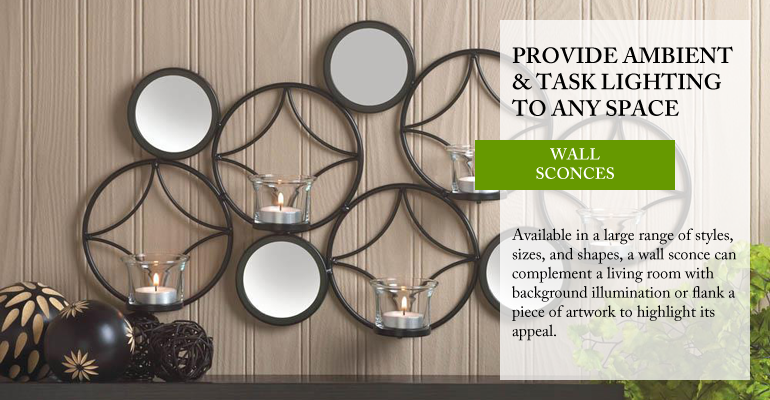 OverSoyed Fine Organic Products - Wall Sconces