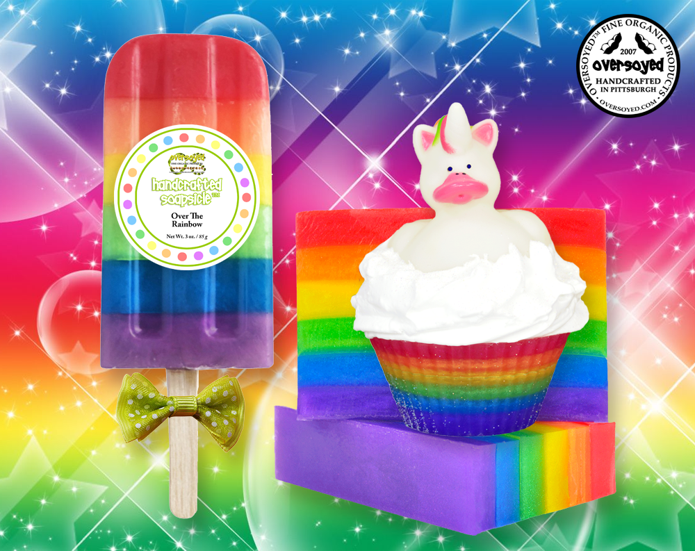 OverSoyed Fine Organic Products 2019 Limited Edition Pride Pack