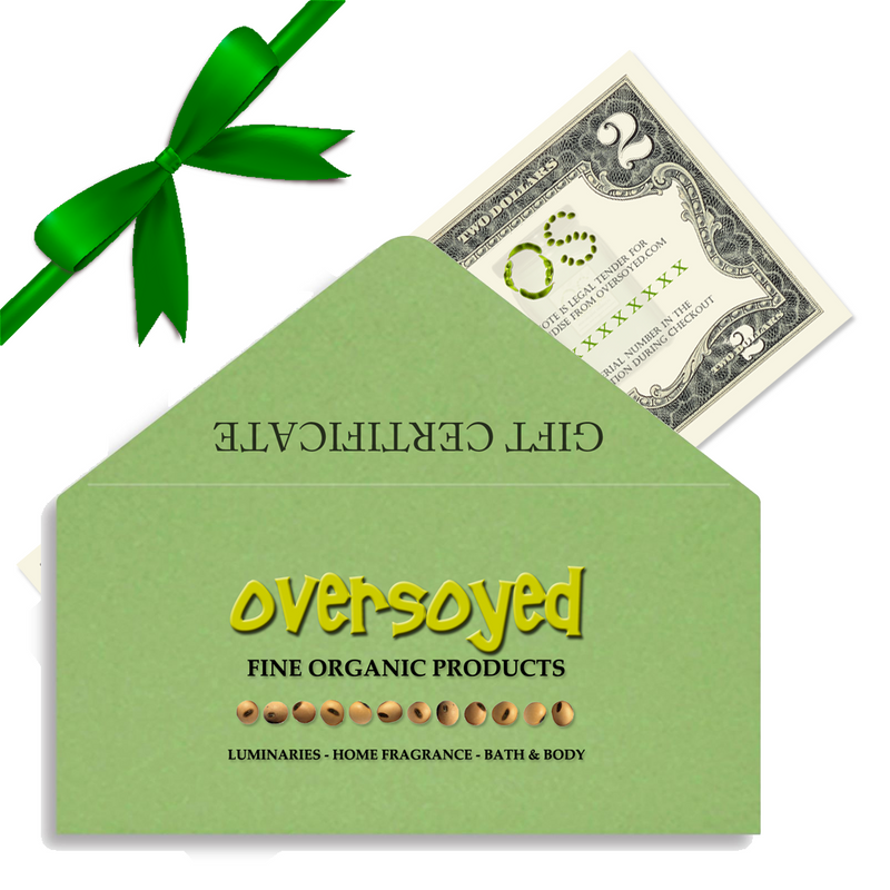 OverSoyed Gift Certificate