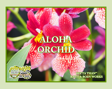 Aloha Orchid (Compare To Bath & Body Works®) Exfoliating Soy Scrub & Facial Cleanser