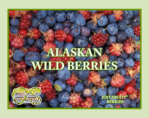 Alaskan Wild Berries Hand Poured Soy Pillar Candles