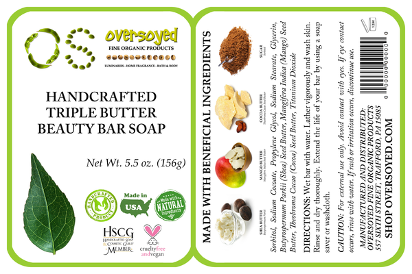 A Mother's Love Triple Butter Beauty Bar Soap