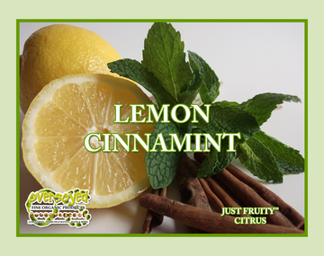 Lemon Cinnamint Exfoliating Soy Scrub & Facial Cleanser