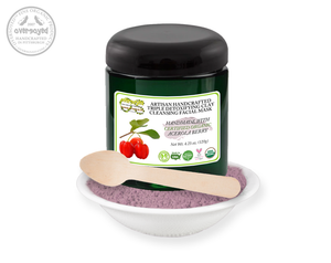 Acerola Berry Barbados Cherry Artisan Handcrafted Triple Detoxifying Clay Cleansing Facial Mask