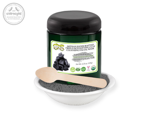 Activated Charcoal Artisan Handcrafted Triple Detoxifying Clay Cleansing Facial Mask