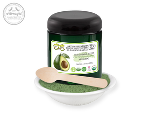Avocado Artisan Handcrafted Triple Detoxifying Clay Cleansing Facial Mask