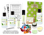Free Product Samples with Every OverSoyed Fine Organic Products Order