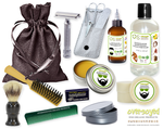 Winter Glow (Compare To Yankee Candle®) Deluxe Men's Beard & Mustache Grooming Kit