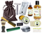 Apple Crisp Deluxe Men's Beard & Mustache Grooming Kit