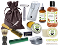 Season's Blessings (Compare To Yankee Candle®) Deluxe Men's Beard & Mustache Grooming Kit