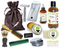 Apple Butter Deluxe Men's Beard & Mustache Grooming Kit