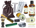 Sexy Sandalwood Deluxe Men's Beard & Mustache Grooming Kit