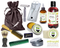 Apple Balsam Pine Deluxe Men's Beard & Mustache Grooming Kit