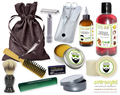 Berry Sangria (Compare To Bath & Body Works®) Deluxe Men's Beard & Mustache Grooming Kit
