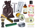 Honeysuckle Rose Deluxe Men's Beard & Mustache Grooming Kit