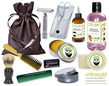 Aloha Orchid (Compare To Bath & Body Works®) Deluxe Men's Beard & Mustache Grooming Kit