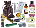 Aloha Waikiki (Compare To Bath & Body Works®) Deluxe Men's Beard & Mustache Grooming Kit