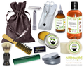 Mango Deluxe Men's Beard & Mustache Grooming Kit