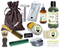 Patchouli & Hemp Deluxe Men's Beard & Mustache Grooming Kit