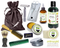 African Green Musk Deluxe Men's Beard & Mustache Grooming Kit