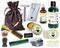 Amazon Rain Forest Deluxe Men's Beard & Mustache Grooming Kit