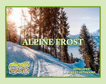 Alpine Frost Exfoliating Soy Scrub & Facial Cleanser