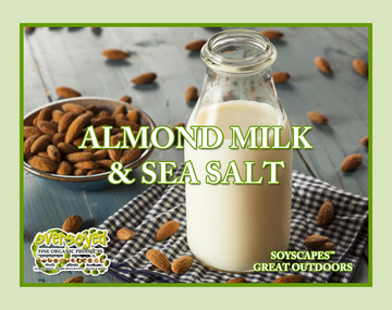 Almond Milk & Sea Salt Exfoliating Soy Scrub & Facial Cleanser