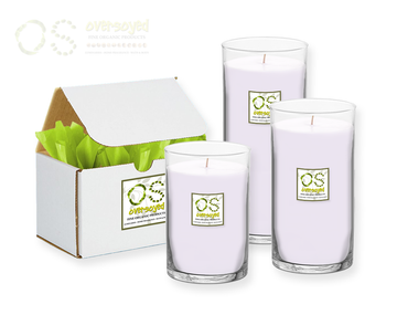 212 for Women (Compare To Carolina Herrera®) Hand Poured Soy Pillar Candles