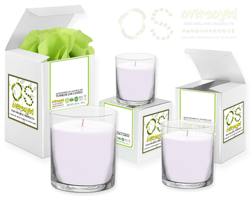 212 for Women (Compare To Carolina Herrera®) Hand Poured Soy Glass Tumbler Candle