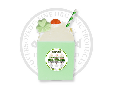 Shamrock Mint Milkshake Bath Bar Soap
