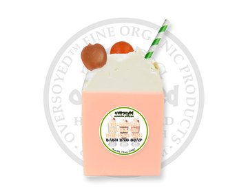 Peaches & Cream Milkshake Bath Bar Soap