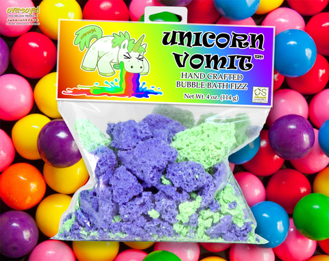 Bubble Gum Unicorn Vomit Bubble Bath Fizz