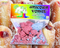 Jelly Doughnut Unicorn Vomit Bubble Bath Fizz