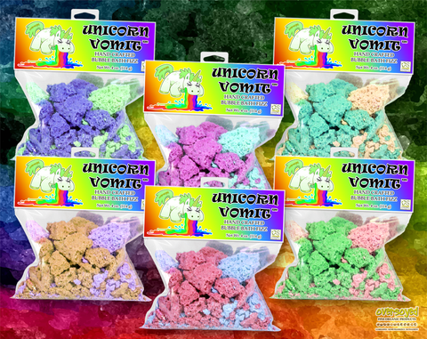 Unicorn Vomit Bubble Bath Fizz Collection