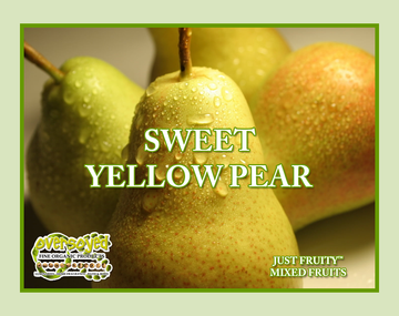 Sweet Yellow Pear Hand Poured Soy Pillar Candles