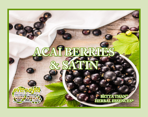 Acai Berries & Satin (Compare To Herbal Essences®) Exfoliating Soy Scrub & Facial Cleanser