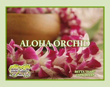 Aloha Orchid (Compare To Capri Blue®) Exfoliating Soy Scrub & Facial Cleanser