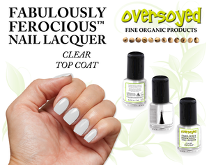 Fabulously Ferocious™ Nail Lacquer Clear Top Coat