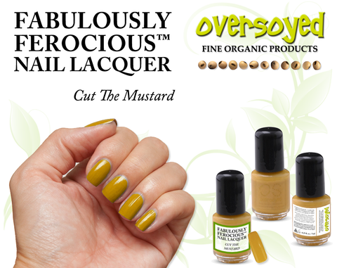 Cut The Mustard Fabulously Ferocious™ Nail Lacquer