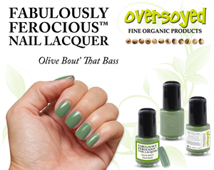 Olive Bout' That Bass Fabulously Ferocious™ Nail Lacquer