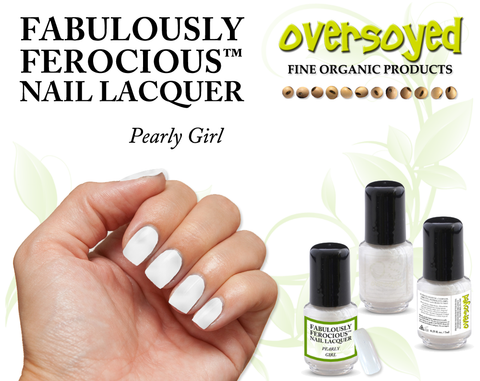 Pearly Girl Fabulously Ferocious™ Nail Lacquer