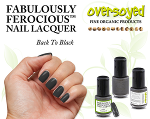 Back To Black Fabulously Ferocious™ Nail Lacquer