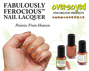 Pennies From Heaven Fabulously Ferocious™ Nail Lacquer