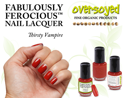 Thirsty Vampire Fabulously Ferocious™ Nail Lacquer