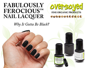 Why It Gotta Be Black? Fabulously Ferocious™ Nail Lacquer