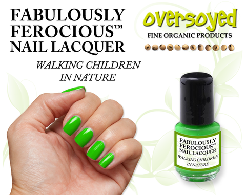Walking Children In Nature Fabulously Ferocious™ Nail Lacquer