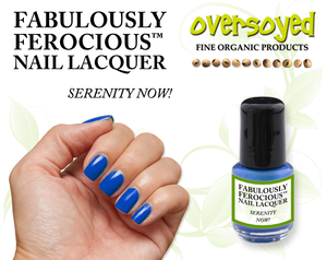 Serenity Now! Fabulously Ferocious™ Nail Lacquer