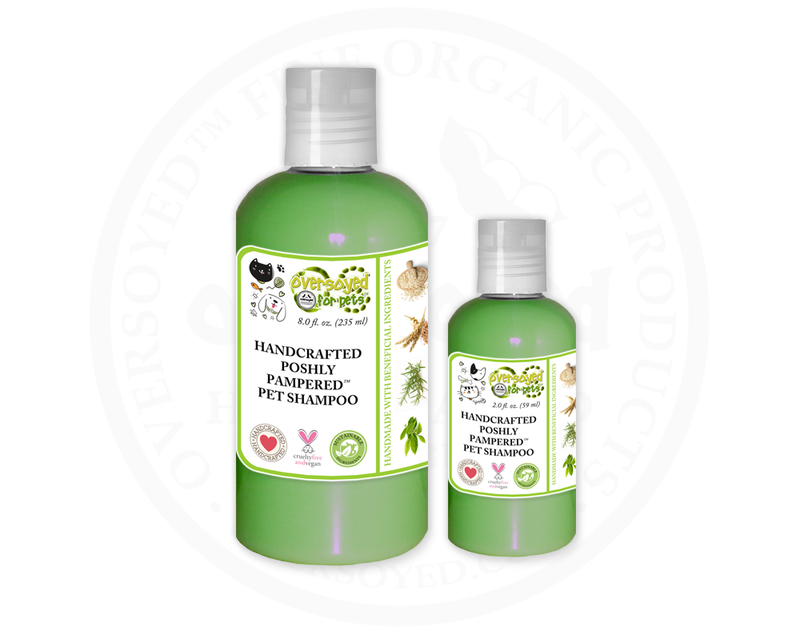 Fig & Rosemary Poshly Pampered™ Handcrafted Natural Pet Shampoo
