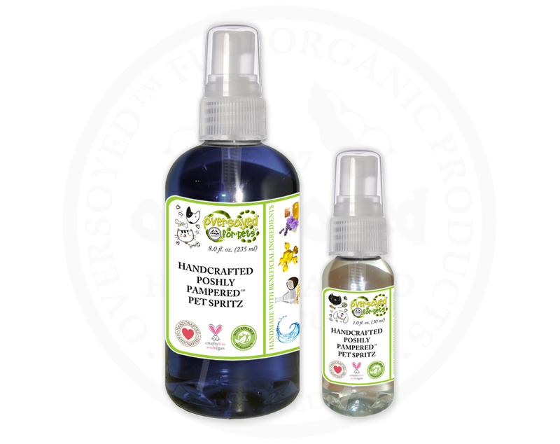 Blueberry Toddy Poshly Pampered™ Handcrafted Deodorizing Pet Spray